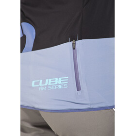 Cube AM Fietsshirt lange mouwen Dames zwart